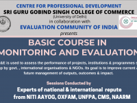 Basic course in monitoring and evaluation